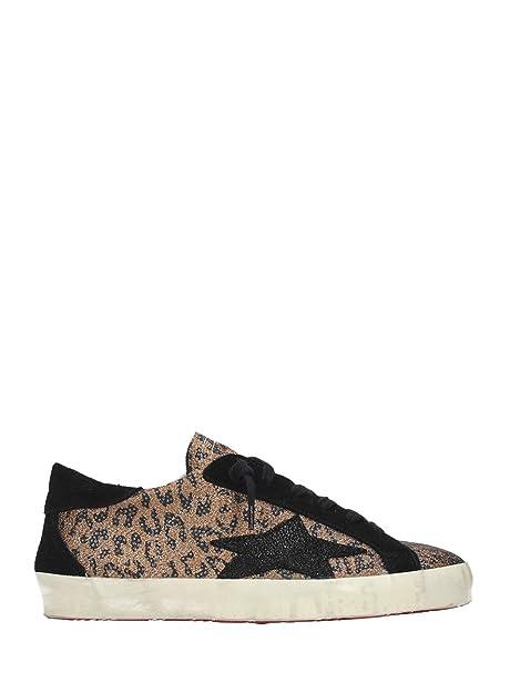 209 Nerarame 39 Sneakers Donna Effetto Pelle Leopardato Basse Ishikawa 6tAHW