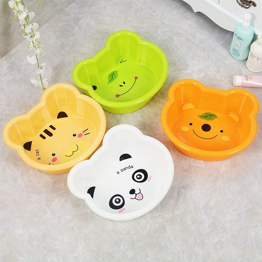 Square Wash Bowls Hokky Plastic Washing Up Bowl Cartoon Washing Basin