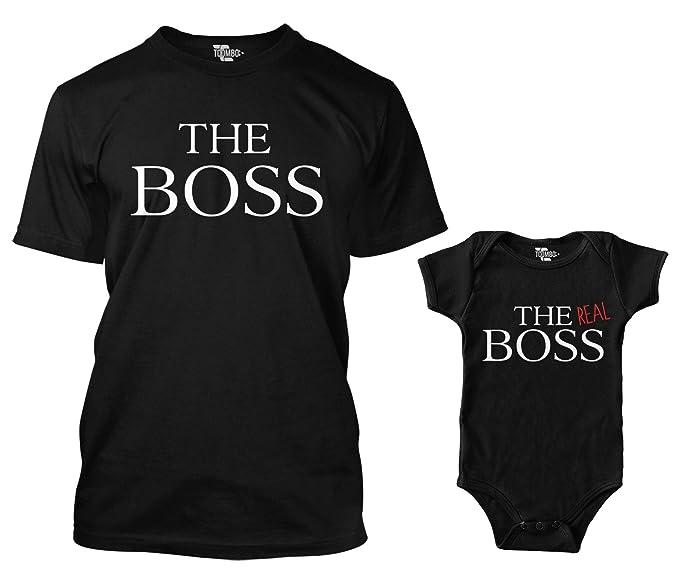 Amazon.com: The Boss/The Real Boss - Body y camiseta para ...