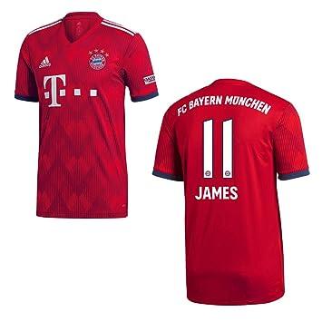 adidas FC Bayern MÜNCHEN Trikot Home Kinder 2019 James 11