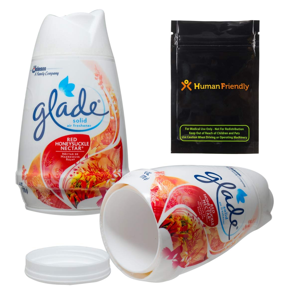 Glade Diversion Safe Stash Container w/HumanFriendly Smell-Proof Bag