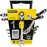 Stanley 4-91-444 Clé mixte à cliquet à tête indexable Jeu de 6 pièces