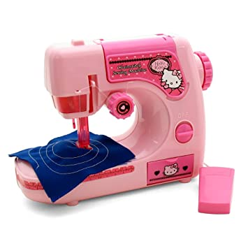 Hello Kitty Chainstitch Sewing Machine Amazoncouk Toys Games Delectable Hello Kitty Sewing Machine Uk