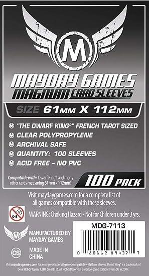 Mayday Games - Funda para Cartas coleccionables (7113) [Importado]