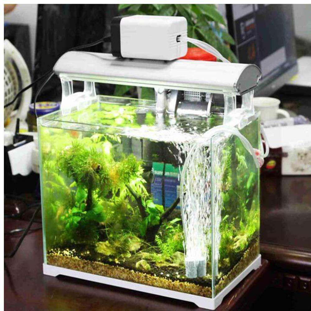 SISHUINIANHUA Silent Oxygen Pump Fish Tank Aeration Pump Fish Aerator Large Household Oxygen Machine Oxygenator Oxygenator,Red by SISHUINIANHUA (Image #4)