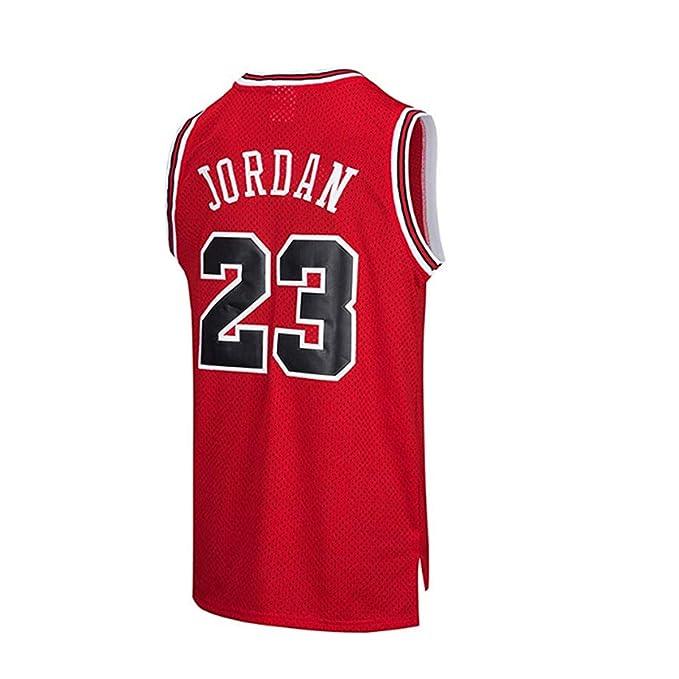 Men's NBA Jordan # 23 Chicago Bulls Retro Pantaloncini da