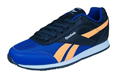 bbd2a6287ef49c Reebok Royal Classic Jogger 2 Kids Sneakers Shoes -Blue-4