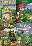 Life at the Pond 4-Pack DVD Bundle - Teach Your Kids Biblical Values, Virtues, and Character: Love Your Enemies, Faith, Responsibility and Priority