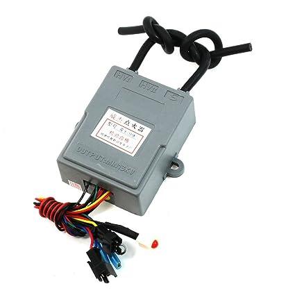 DC3V individual HV Encender encendedor Cable de Pulso para la estufa de gas del calentador de