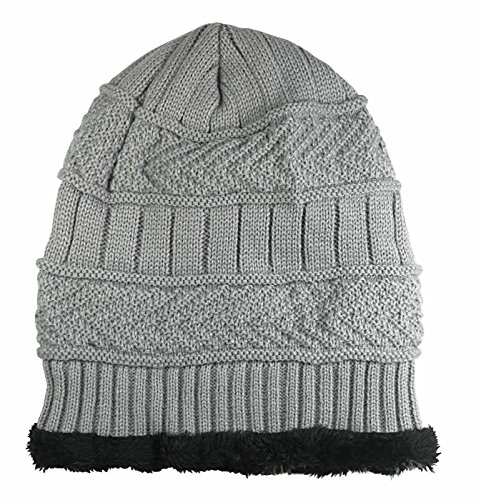 1955f46c4cd HINDAWI Winter Slouchy Beanie Gloves for Women Knit Hats Skull Caps ...