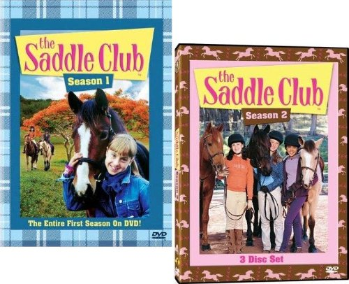 Saddle Club: Complete Seasons 1 & 2 (6 DVDs)