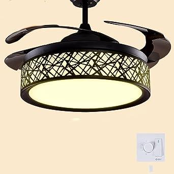 Ventilador de techo invisible enciende ventiladores para lámparas ...