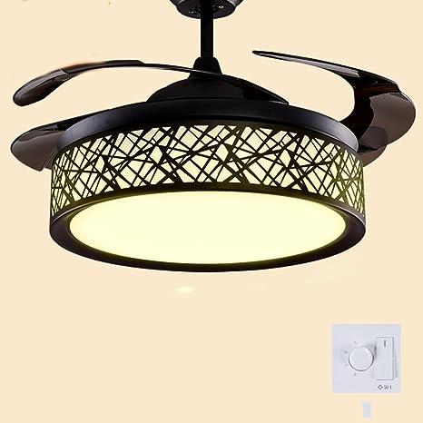 Ventilador de techo invisible enciende ventiladores para ...