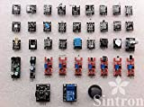 [Sintron] Ultimate 37 in 1 Sensor Modules Kit for Arduino & Raspberry Pi & MCU Education User with Documents Available