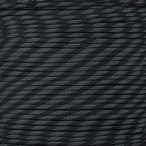 Paracord Planet 550 Cord Type III 7 Strand Paracord 250 Foot Spool - Touch of Grey