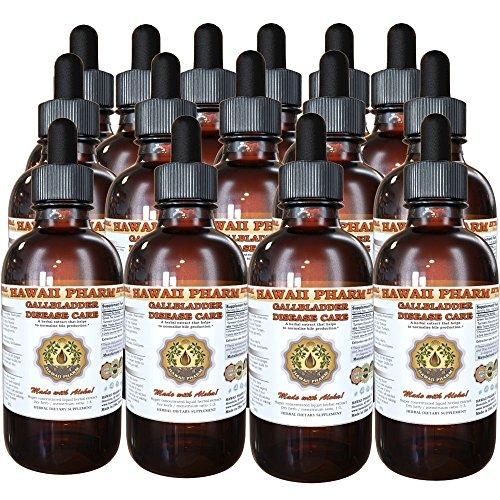Gallbladder Disease Care Liquid Extract Herbal Dietary Supplement 15x4 oz by HawaiiPharm