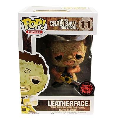 Funko Texas Chainsaw Massacre POP Vinyl Figure: Leatherface (Bloody Variant): Toys & Games