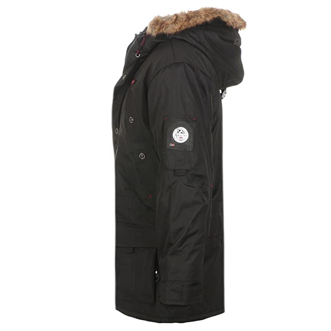 Geographical Norway - Chaqueta - para hombre, color Black Abiosaure, tamaño xx-large: Amazon.es: Ropa y accesorios