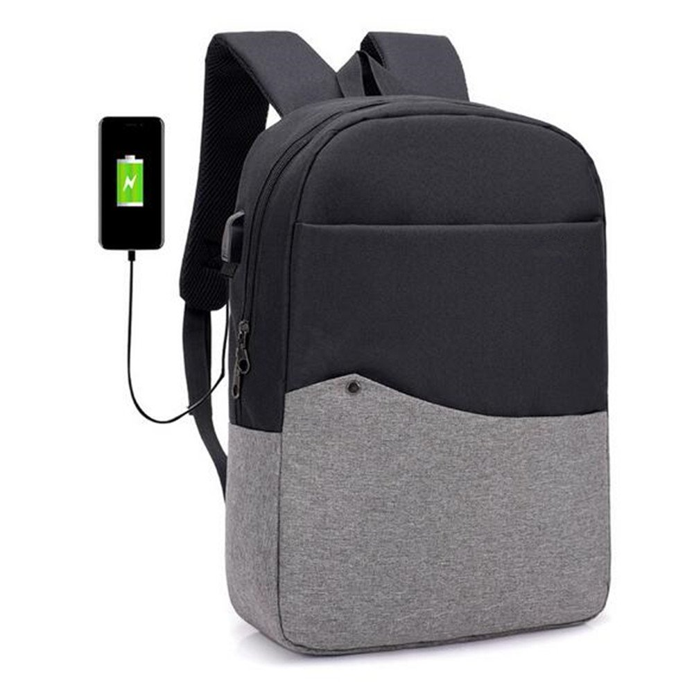 WYF Mochila Para Computadora Portátil Antirrobo Con Puerto Puerto Con De Carga USB Bolsa Para Escuela De Viaje De Negocios Repelente Al Agua 960331