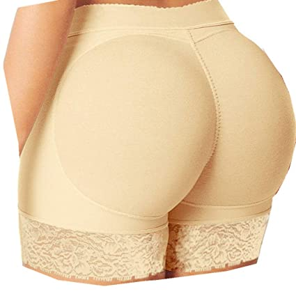 4921163ef21 Image Unavailable. Image not available for. Color  2019 Women Interior Push  Up Padded Fake Ass Underwear