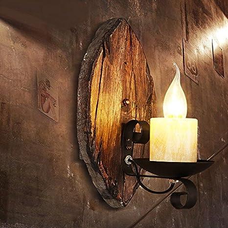LIYAN lámpara de pared Aplique de pared Base E26/27 Lámpara ...