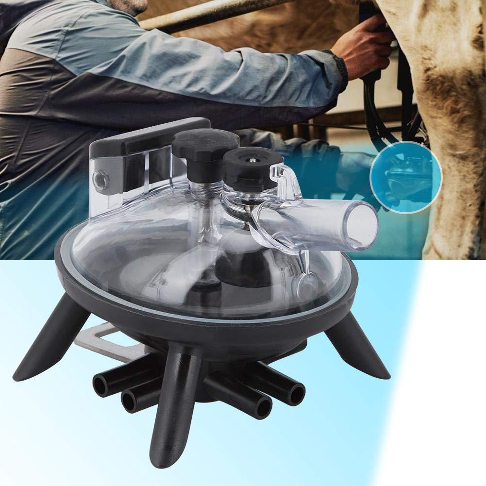 Artiglio di mungitura mungitrice del collettore del latte di mucca 240cc Uso della mucca Accessori per la sostituzione dello strumento del collettore del latte dellartiglio di mungitura per mungitri