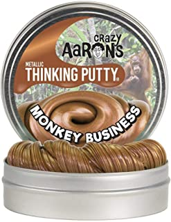 product image for Crazy Aaron's Monkey Business Thinking Putty - Novelty Toy Putty (MB020)