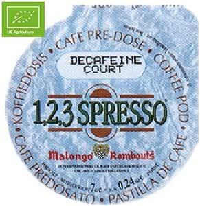 Descafeinado Monodosis Bio 7gr. Café Malongo. 84un