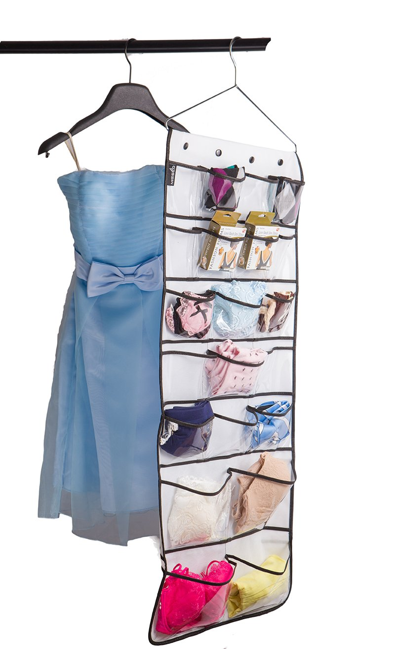 Misslo Hanging Closet Dual-Sided Organizers, 42 Pockets, 38.5 by 17.75-Inch by MISSLO (Image #7)