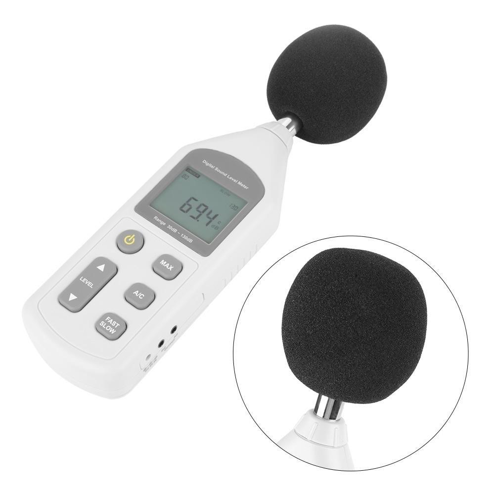 Akozon GM1357 Handy Mini Digital Noise Meter Sound Level Meter Noise Measuring Instrument by Akozon (Image #2)