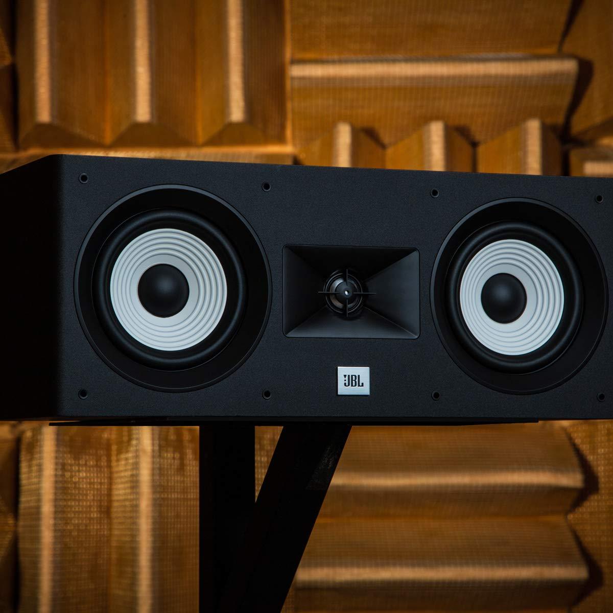2-Way Dual 5.25 Woofers Center Loudspeaker 1 Alluminum Tweeter JBL Stage 125