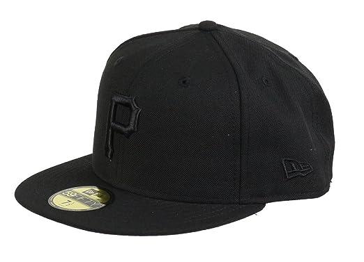 New Era Cap 59Fifty Basic Baseball Cap Black on Black - From e ... 3bbf5786ab1d