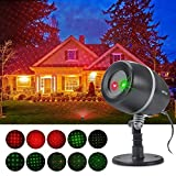 MUSEN [Starry Stage Projector Lights] Waterproof Spotlights with Red & Green Projector Lights for Outdoor&Indoor (Garden, Yard, Wall, Party, KTV, Wedding, Night Club)
