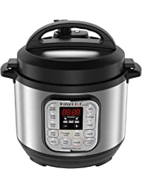 Instant Pot Duo Mini Multi-Use Programmable Pressure Cooker, Slow Cooker, Rice Cooker, Steamer, Sauté, Yogurt Maker and...