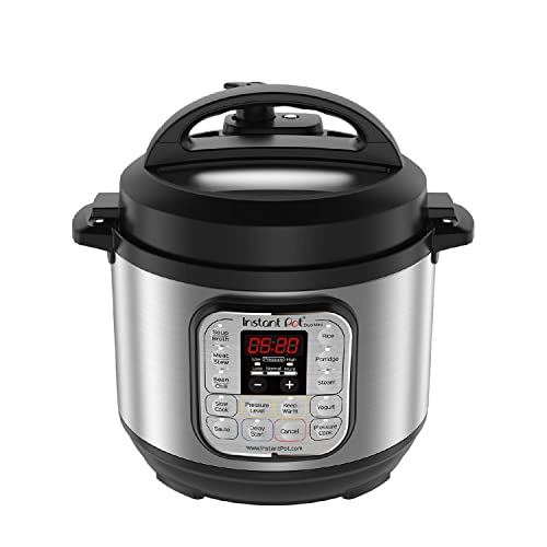 Instant Pot Duo Mini 3 Qt 7-in-1 Multi Use Programmable Pressure Cooker