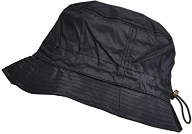 Bucket Rain Hat with Fleece Interior TOUTACOO
