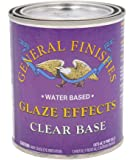 General Finishes Water Based Glaze Effects, 1 Pint, Clear Base