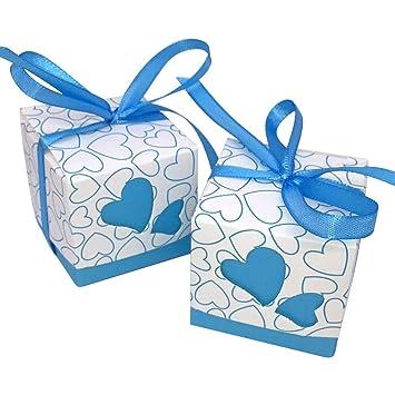 Amazon.com: AdasBridal DIY Caja de caramelos de boda con ...