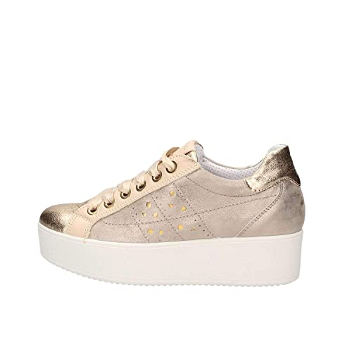 designer fashion 15f3b 1bb9f IGI&CO Scarpe Donna Sneakers con Platform 3155922 Platino
