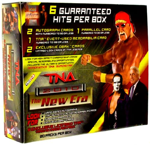 Tristar TNA Wrestling 2010 New Era Trading Cards Booster Box -