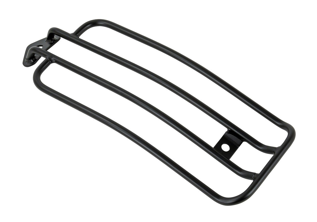2018 New Model Buffalo Bag Luggage Rack Black For Harley Davidson Softail Slim with Solo Seat