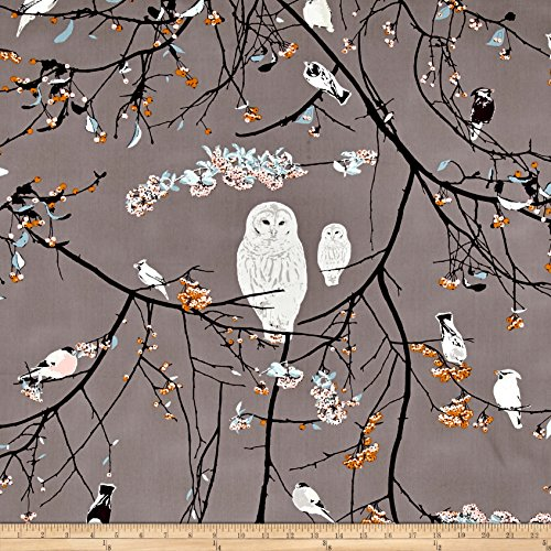 Art Gallery Fabrics Art Gallery Blithe Bird Songs Fabric by the Yard, Sun by Art Gallery Fabrics