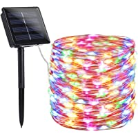 findyouled Solar String Lights Outdoor, 20m 200 LED Solar Powered String Fairy Tree Light with 8 Lighting Modes…