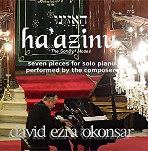 Haazinu, Listen! The Song of Moses. The CD