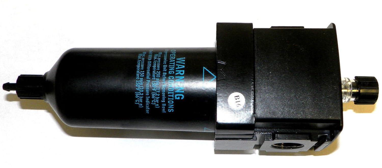 Dixon L28-04AMB Wilkerson Economist Standard L28 1//2 Compact Lubricator Bowl with Sight Glass Metal//Plastic 184 SCFM Metal 10 oz