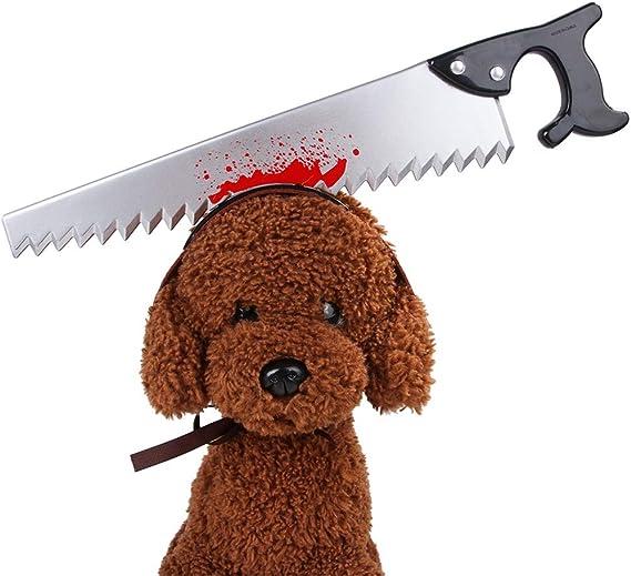 Vestiti per Gatti di Halloween Puntelli di Halloween per Vestire Decorazione Cosplay per Feste per Cani IWILCS Copricapo di Halloween per Cani Sega Copricapo di Gatti per Cani di Halloween