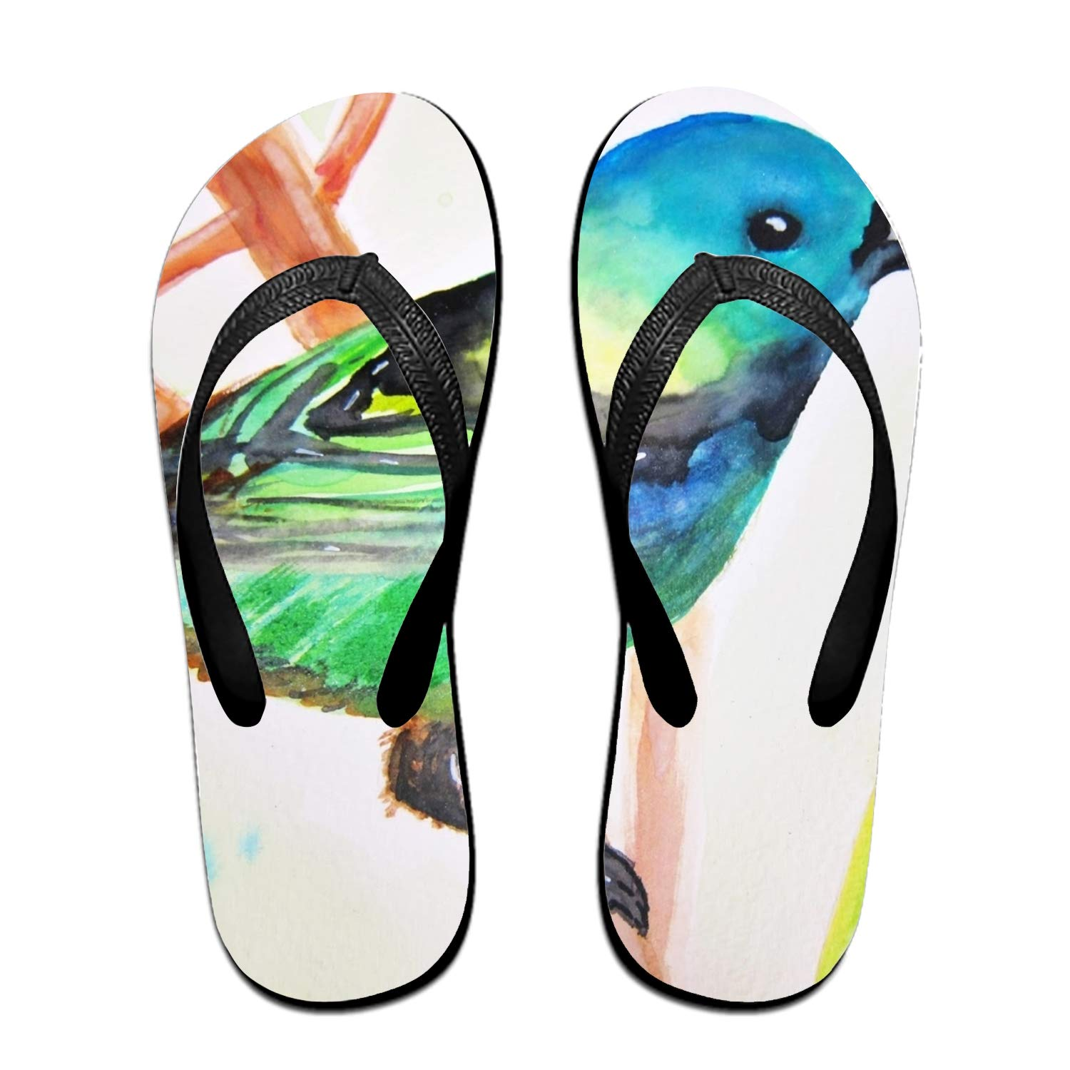 Bird Breasted Design Fashion Womens Mens Classical Flip Flops
