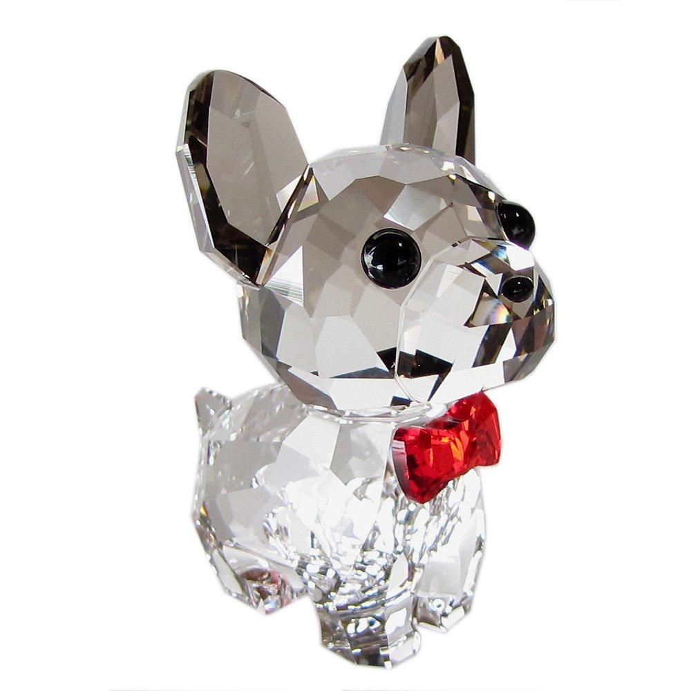 スワロフスキー SWAROVSKI クリスタル フィギュア Puppy Bruno(フレンチブルドッグ) 5213639 [並行輸入品] B01N29FKTQ