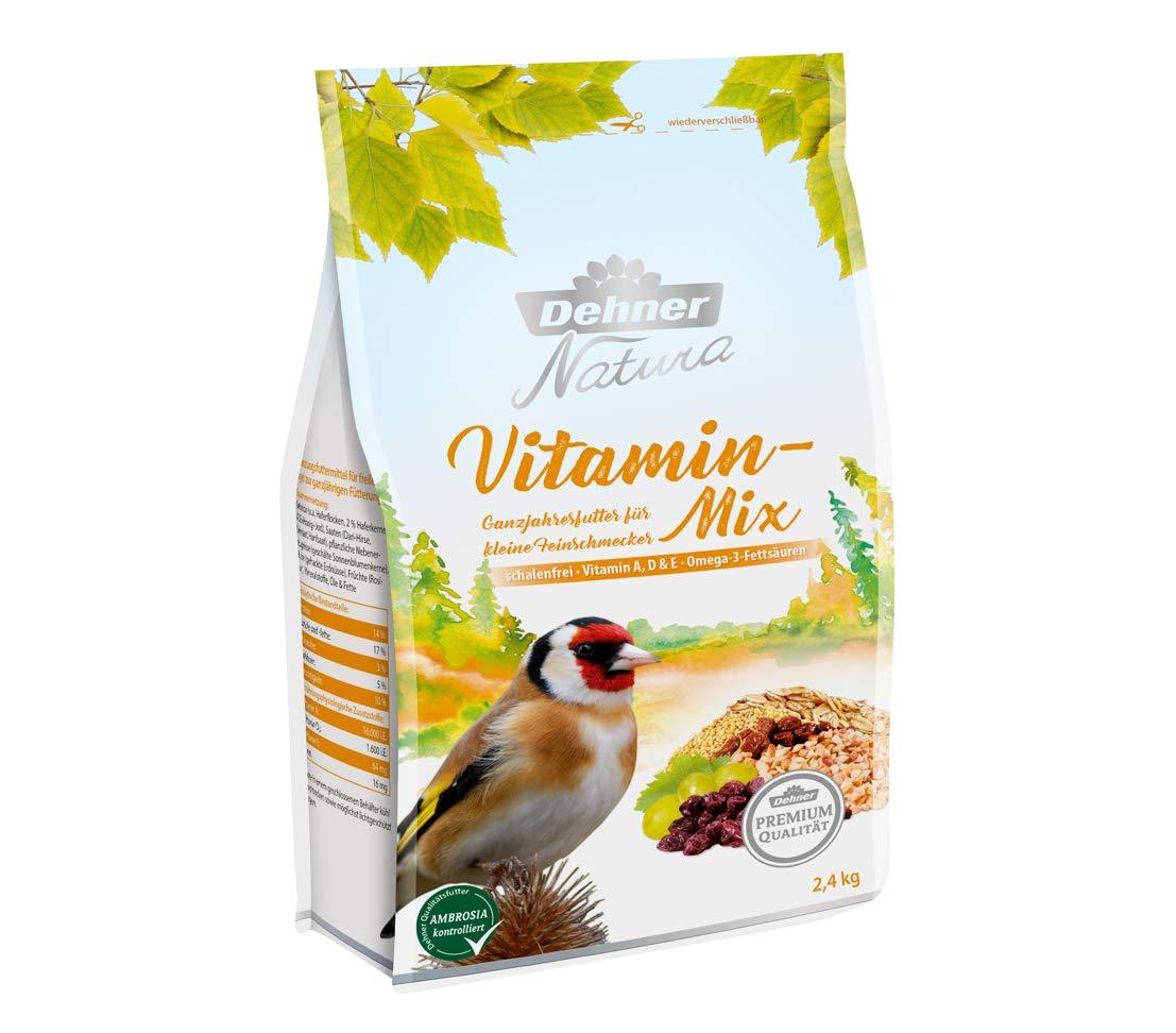 2.4 kg schalenfrei Dehner Premium Natura Wildvogelfutter