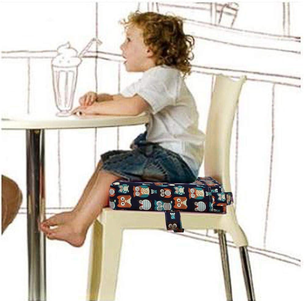 PYHQ D/émontable R/éhausseurs Chaises Coussin B/éb/é enfant en bas /âge enfants Portable Voyage /À manger